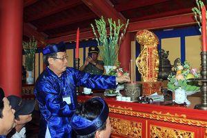 Khánh thành Đền thờ vua Hàm Nghi và các tướng sĩ Cần Vương