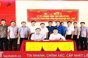 Hỗ trợ xã biên giới Hà Tĩnh xây dựng nông thôn mới giai đoạn 2020 - 2025