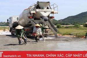Hà Tĩnh tiếp tục 'giữ lửa' trong xây dựng NTM, tạo sự ổn định kinh tế nông thôn