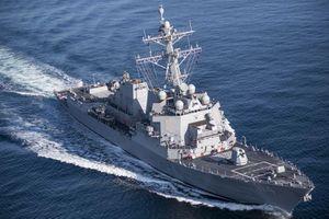 Mỹ điều chiến hạm tiến vào Trường Sa ngay sau khi ra tuyên bố về Biển Đông