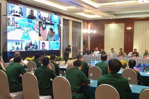 Mạng lưới các Trung tâm Gìn giữ hòa bình tại khu vực ASEAN tăng cường hợp tác ứng phó với dịch Covid-19