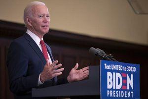 Bầu cử Mỹ: Ứng cử viên Joe Biden nhận được khoản tài trợ khổng lồ