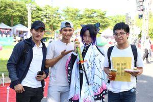 Sinh viên hào hứng với lễ hội giao lưu văn hóa Việt - Nhật