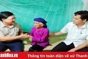 Phó Chủ tịch UBND tỉnh Mai Xuân Liêm thăm các gia đình chính sách huyện Ngọc Lặc và Thường Xuân