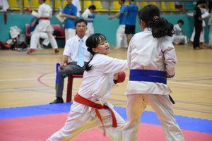 Hơn 160 VĐV tham dự giải Karate trẻ tỉnh năm 2020