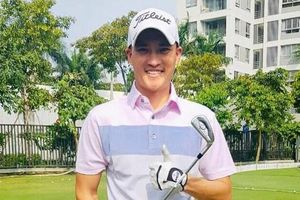 Công Vinh vượt 2 tuyển thủ tại giải golf quốc gia