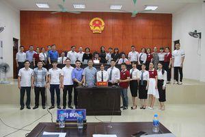 Trường Đại học Ngoại thương tổ chức phiên tòa giả định cho học viên cao học