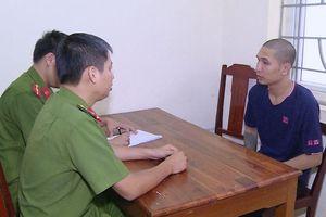 Bắt kẻ nổ súng đe dọa con nợ ở Thanh Hóa