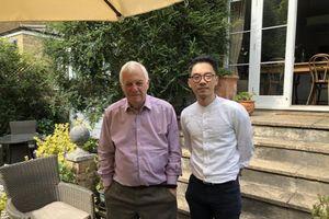 Ông Pompeo tiếp cựu thống đốc Hong Kong và La Quán Thông