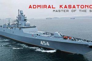 Sức mạnh khu trục hạm 'bá chủ biển khơi' mới gia nhập Hải quân Nga