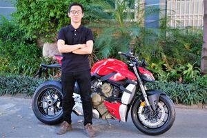 Ducati Streetfighter V4 - naked-bike mạnh nhất thế giới tại VN