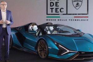 Siêu tụ điện giúp siêu xe Lamborghini Sían Roadster đạt tốc độ không tưởng