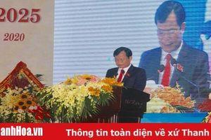 Đồng chí Nguyễn Quang Hải tái đắc cử Bí thư Huyện ủy Đông Sơn, nhiệm kỳ 2020-2025