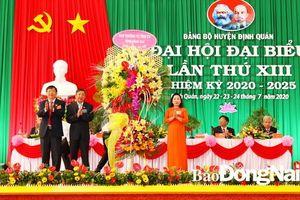 Khai mạc Đại hội đại biểu Đảng bộ huyện Định Quán lần thứ XIII