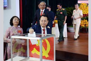 Đồng chí Nguyễn Văn Hiếu tái đắc cử Bí thư Quận ủy quận 5