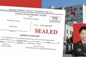 Mỹ tuyên bố khởi tố 4 nhà khoa học Trung Quốc là quân nhân PLA giấu mặt
