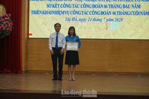 Liên đoàn Lao động quận Tây Hồ kỷ niệm 91 năm Ngày thành lập Công đoàn Việt Nam