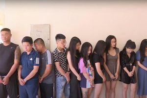 20 nam, nữ thanh niên 'bay lắc' trong khách sạn ở Bắc Ninh lúc rạng sáng