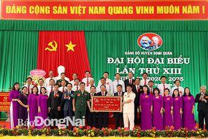 Đại hội Đảng bộ H.Định Quán lần thứ XIII thành công tốt đẹp