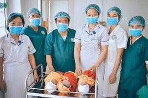 Trung tâm Y tế Mù Cang Chải (Yên Bái) phẫu thuật thành công ca sinh 3