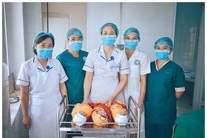 Lần đầu tiên Trung tâm Y tế Mù Cang Chải mổ đẻ thành công ca sinh 3