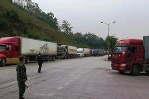 Sớm chấm dứt hoạt động của Đội lái xe chuyên trách qua cửa khẩu