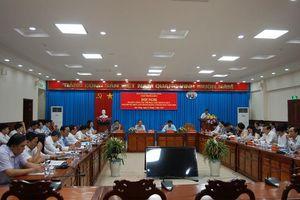 Cụm thi đua số 5 Ngành Tổ chức xây dựng Đảng sơ kết hoạt động 6 tháng đầu năm 2020