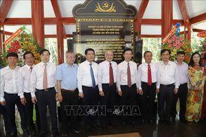 Khánh thành công trình nâng cấp Nhà bia kỷ niệm nơi làm việc của Ban Tuyên huấn Trung ương Cục miền Nam
