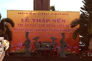 Câu chuyện trong Nghĩa trang Liệt sĩ Chư Prông