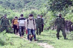Bộ đội Biên phòng tỉnh Hà Giang phát hiện 14 công dân Việt Nam vượt biên trái phép