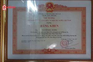Thương binh hạng nhất được Thủ tướng tặng bằng khen, nuôi 5 con thành đạt
