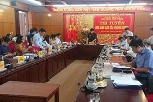 Thi tuyển công khai chức danh Giám đốc Sở Công thương tỉnh Đắk Lắk