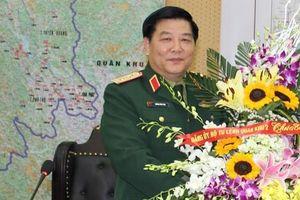 Cựu Tư lệnh Quân khu 2 bị Ban Bí thư kỷ luật khiển trách