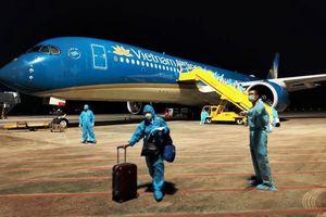 Sân bay Vân Đồn đón 276 công dân Việt Nam về từ Mỹ