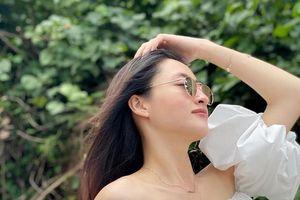 Hoa hậu Lương Thùy Linh khoe body chuẩn tại Phú Quốc