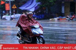 Cơn mưa 'vàng' giải nhiệt thị xã phía Nam Hà Tĩnh