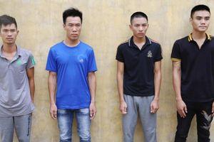 Triệt phá băng nhóm 'bảo kê, thu phí' tại Hà Tĩnh
