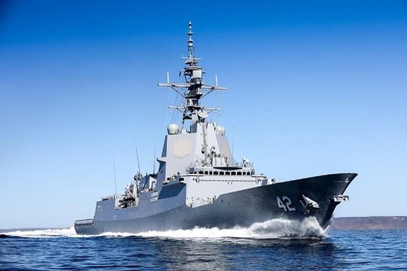 Hải quân Hoàng gia Australia đang sở hữu khu trục hạm cực mạnh