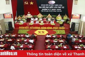 Đại hội đại biểu Đảng bộ huyện Thiệu Hóa lần thứ XX: Đoàn kết - Kỷ cương - Năng động - Phát triển