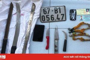 Truy bắt nhanh 2 đối tượng cướp giật tài sản ở các tuyến đường nội ô TP. Long Xuyên