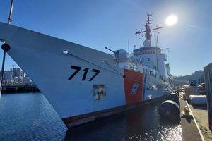 Mỹ chuyển giao 2 tàu tuần tra cỡ lớn cho Cảnh sát biển Việt Nam