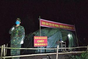 Bộ đội biên phòng Nghệ An tuần tra thâu đêm, ngăn nhập cảnh trái phép