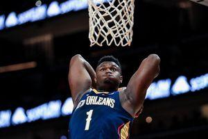 VĐV bóng rổ nặng 129 kg gây chú ý trong ngày NBA trở lại
