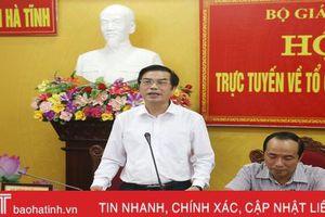 Chủ động trong mọi tình huống, tổ chức tốt Kỳ thi tốt nghiệp THPT tại Hà Tĩnh