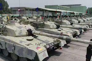 Quân đội Pakistan tiếp nhận lô xe tăng nội địa Al-Khalid-I đầu tiên