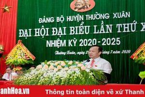 Đồng chí Đỗ Xuân Nam tái đắc cử Bí thư Huyện ủy Thường Xuân, nhiệm kỳ 2020-2025