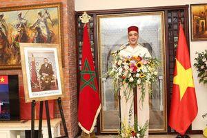 Lễ kỷ niệm Ngày Lên Ngôi của Quốc Vương Morocco tại Hà Nội