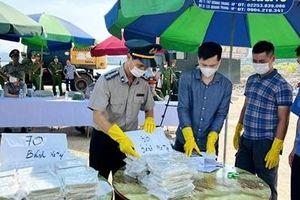 Tiêu hủy vật chứng vụ án 100 bánh heroin