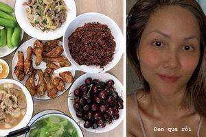 Hết khoe mâm cơm 'xịn sò', H'Hen Niê còn quay clip dạy từ đầu đến cuối cách làm ngũ cốc đặc biệt để ăn sáng