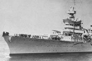 Số phận bi thảm của chiến hạm Mỹ: Bí mật vận chuyển quả bom nguyên tử đầu tiên